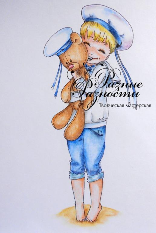 Рисую в отпуске)