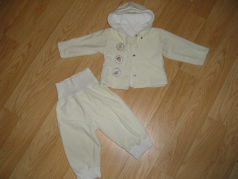 Велюровый костюм Ewa, 68-74 размер
