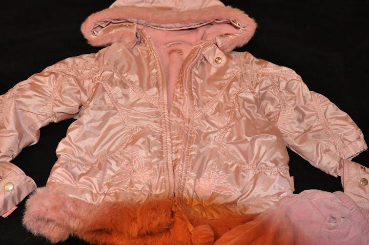 Pampolina утепл перламутр курточка +брючки 2-2,5 г - 900 р