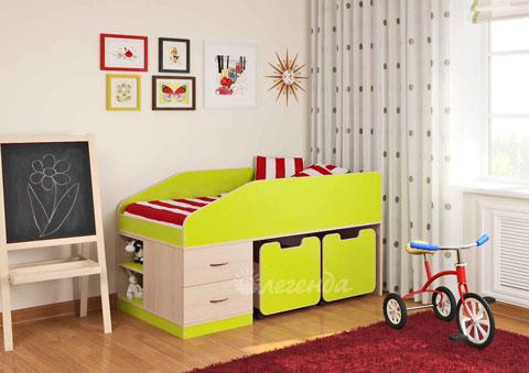 Какую кровать лучше  ребенку после 2х лет