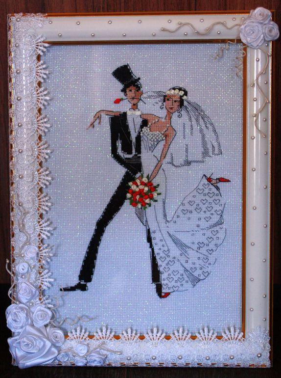 В день свадьбы вышивка 912