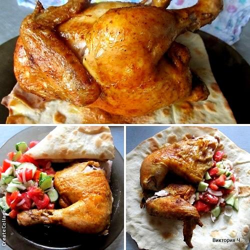 Курица в лаваше жареная рецепт