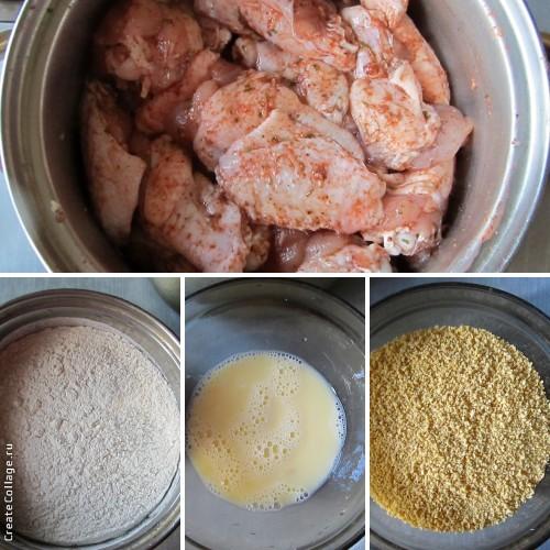 Ежики на сковороде рецепт жареные 115