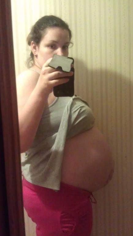 34 недели беременности опустился живот