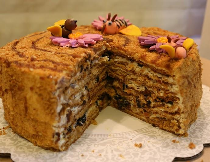 торт медовый рецепт приготовления фото