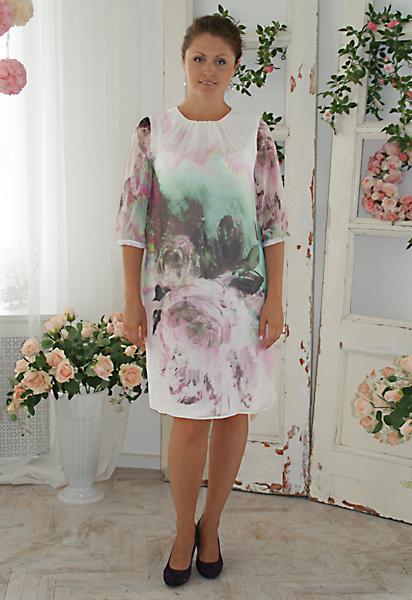 Модные платья из купона