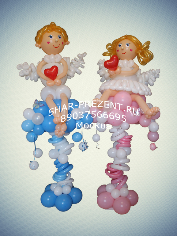 Оформление  воздушными  шарами,  доставка  шаров