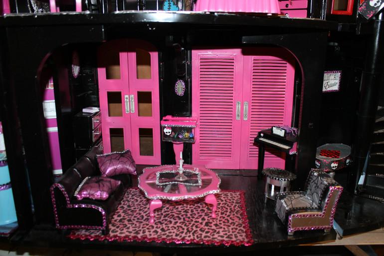 Дом для кукол монстер хай своими руками 64