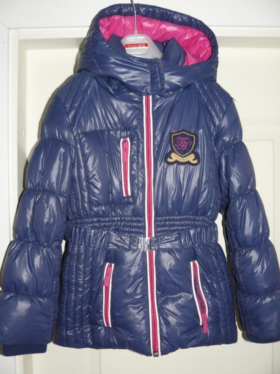 Новая  куртка  д/д  Tommy  Hilfiger  6  (реально  5  лет,  110)