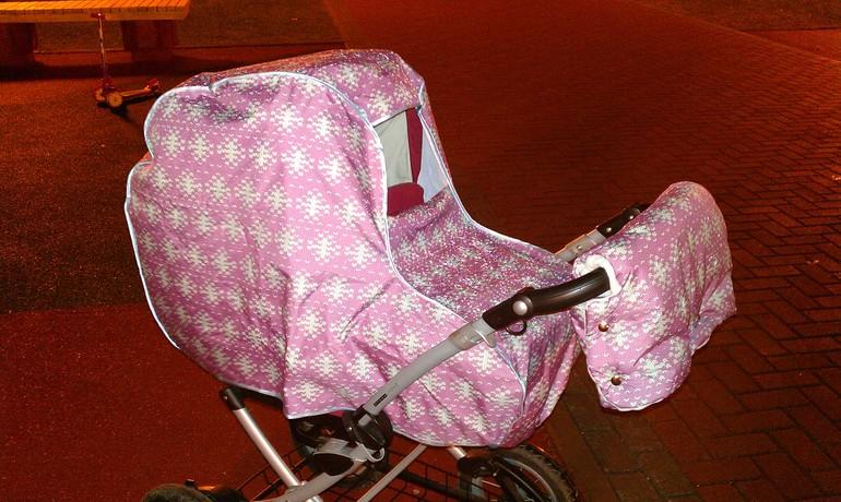 Шьем сумку для коляски