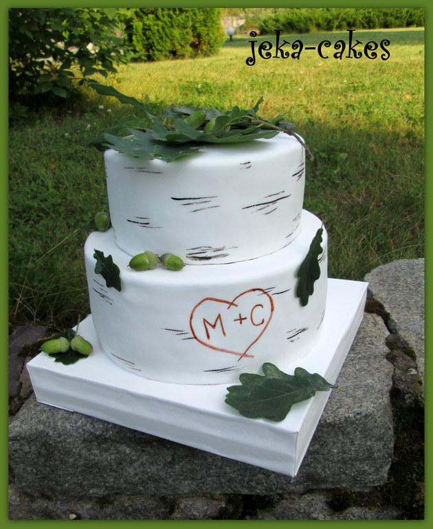 Торт березка фото