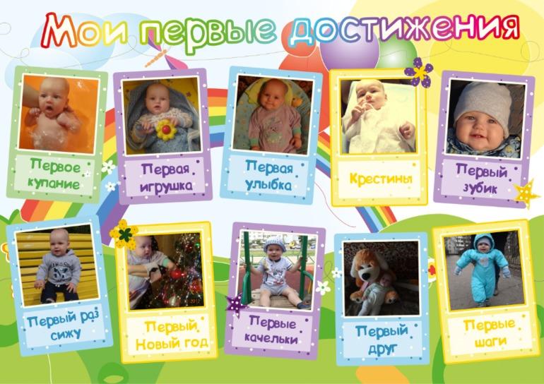 Плакаты своими руками на день рождения 1