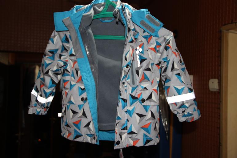 Новая куртка для мальчика Huppa 5 в 1