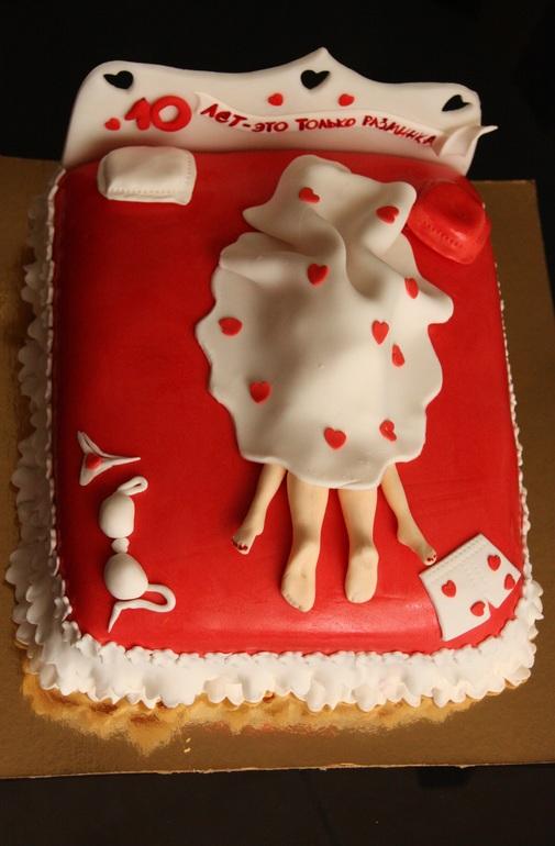 Торт на 10 знакомства