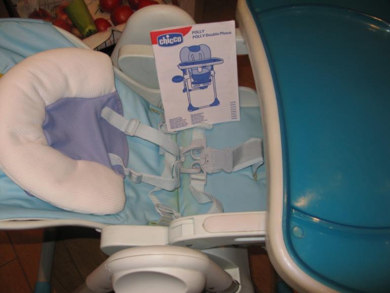 Детский стул chicco polly Б/У