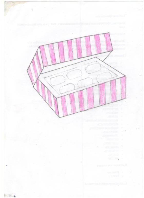 коробочки для капкейков своими руками