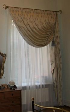 Шторы на маленькие окна фото