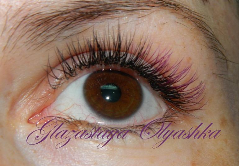 У меня покраснели глаза после наращивания ресниц 14