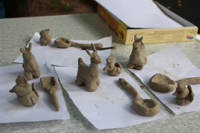Поделки из глины для детей своими руками 4 года 83