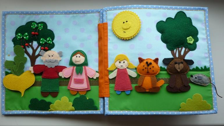 Книги сказки своими руками для детей