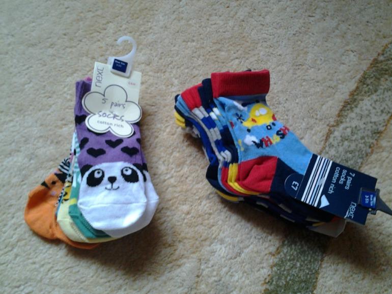 Новы носки Next р.19-22 на мальчика и девочку, м. Алтуфьево