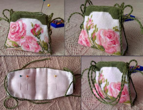 Игольницы сумочки вышивка крестом