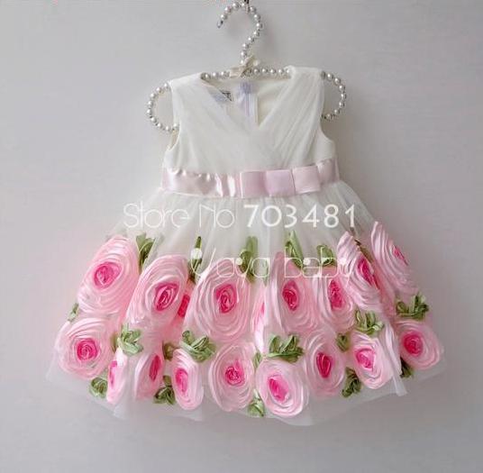Украшение на платье своими руками детское 48