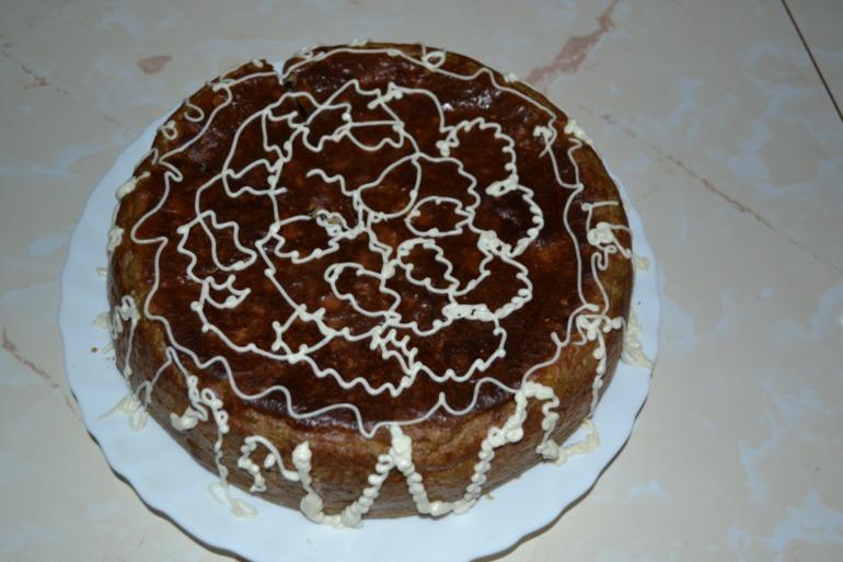 Печеночный пирог, мой вариант.