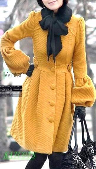 Модный рукав на пальто фото