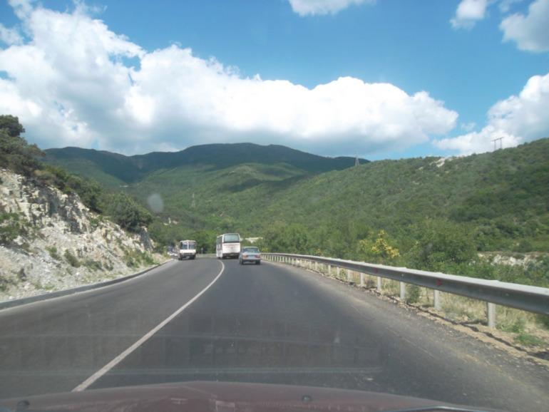 дорога на новороссийск