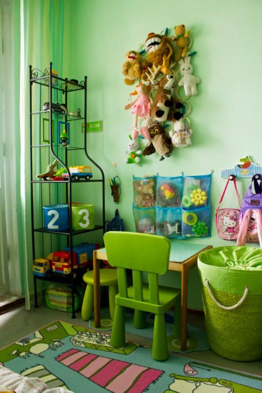 Детский игровой уголок в комнате своими руками 60