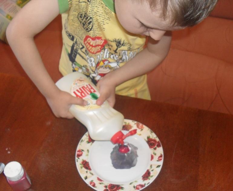 Как сделать вулкан своими руками в домашних условиях без уксуса