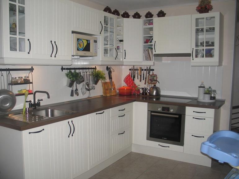 Интерьер кухни из икеа фото