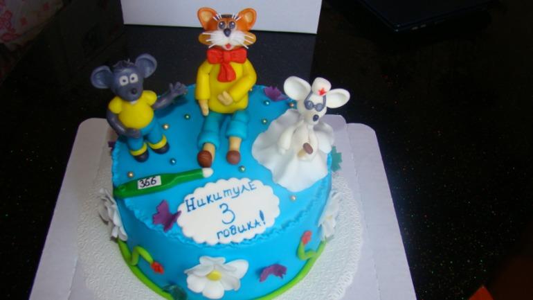 Торт голова леопольда фото