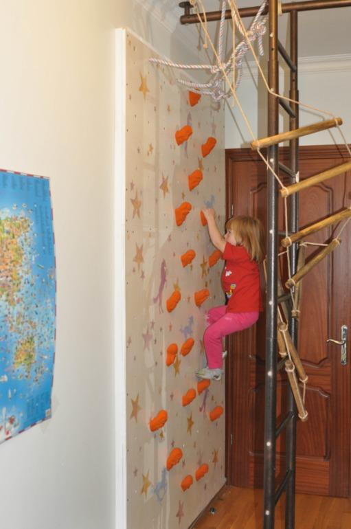 Как сделать стену для лазания