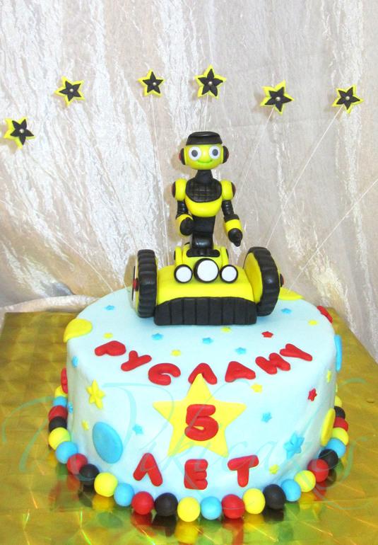 Как сделать торт робота 710