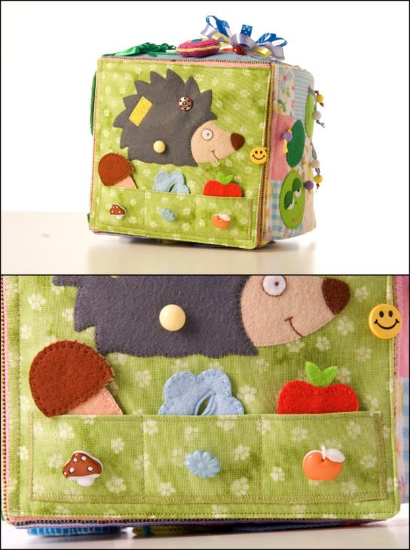 Развивающие кубики для детей своими руками из ткани выкройки 16