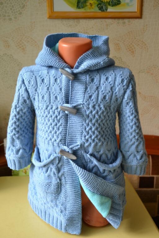 Мастер класс вязание пальто детское для 247
