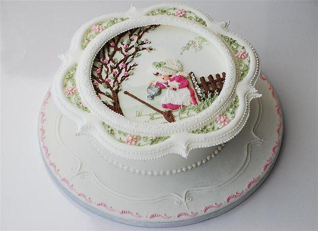 Рисунки на глазури для торта фото