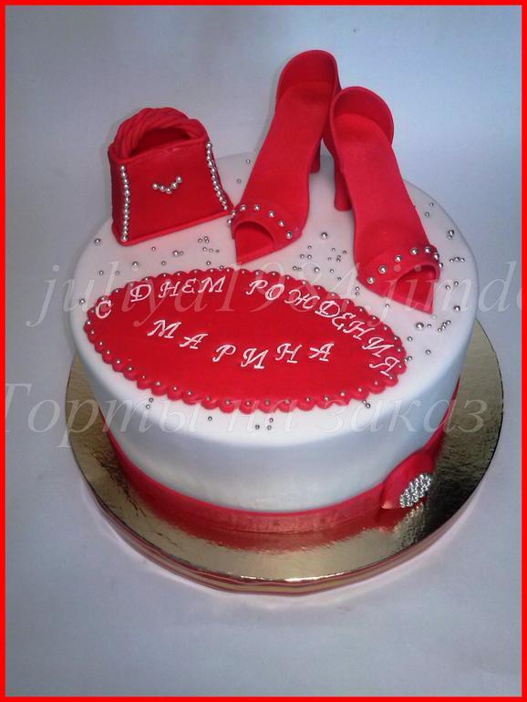 Фото тортов для девушек