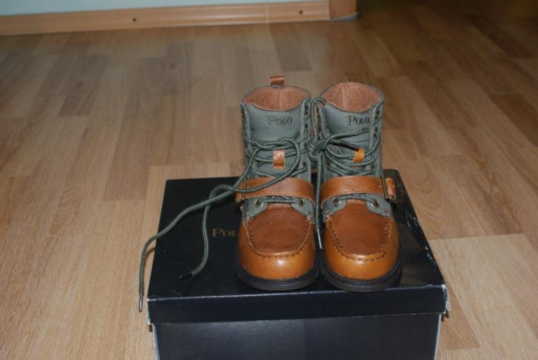 Ботинки на мальчика Ralph Lauren - демисезон (оригинал)