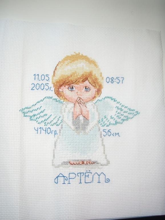 Вышивка мой ангел алиса