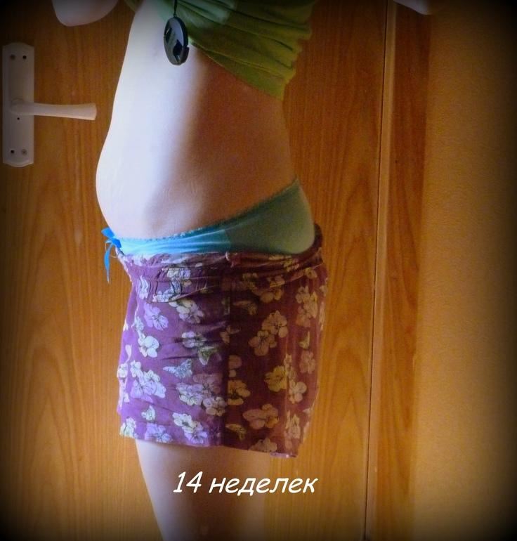 жир или беременный живот