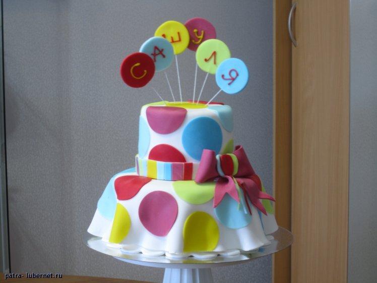 Торты из мастики на день рождения девочке своими руками