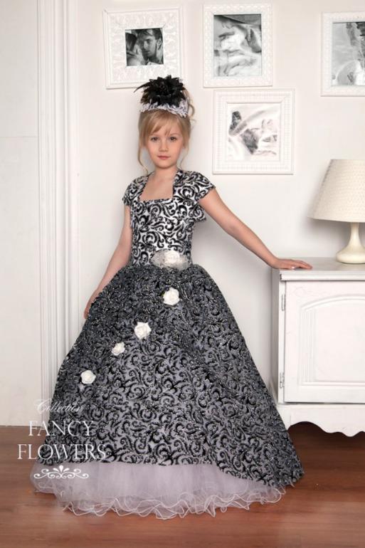 Как сшить вечернее платье для девочки