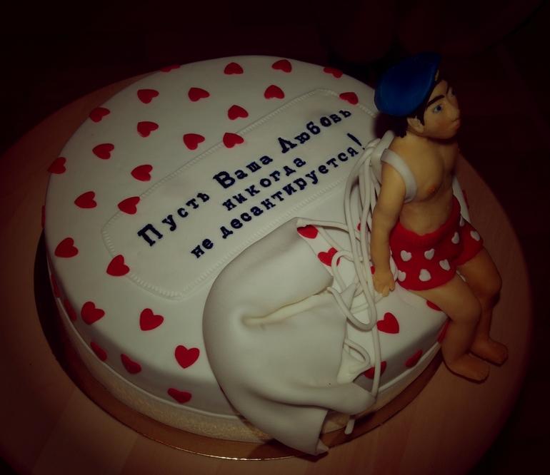 Прикольное поздравление на торт 764