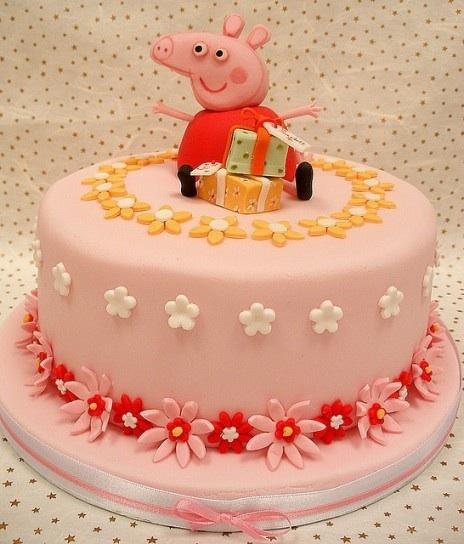 Нужна идейка торт свинки пеппи