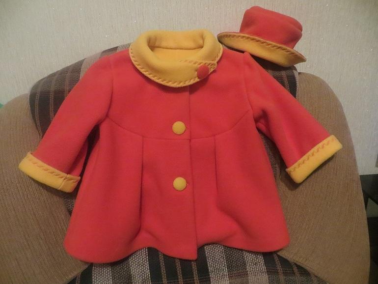Детское пальто сшить 48