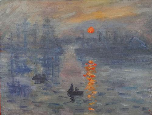 Впечатление. Восход солнца. Клод Моне. - Babyblog.ru