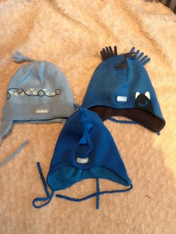 Зимние шапки reima по 500р